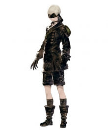 NieR: Automata 9S YoRHa No.9 Type S Cosplay Costume - Without the Pants, Gloves, Stockings