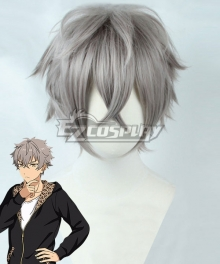 Ensemble Stars Ogami Koga Grey Cosplay Wig
