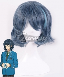 Ensemble Stars Switch Tsumugi Aoba Blue Cosplay Wig