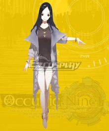 Occultic Nine Ririka Nishizono Cosplay Costume