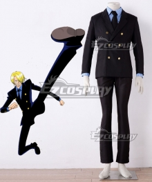 One Piece Sanji Vinsmoke Uniform Cosplay Costume
