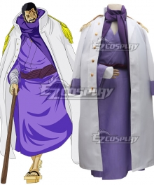 One Piece Fujitora Issho Cosplay Costume