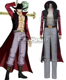 One Piece Dracule Mihawk Cosplay Costume