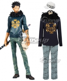 One Piece Trafalgar Law Trafalgar D Water Law Cosplay Costume