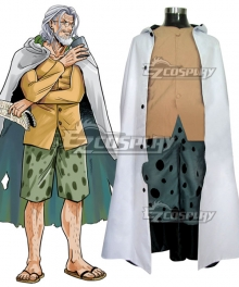 One Piece Silvers Rayleigh Cosplay Costume