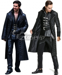 Once Upon A Time Captain Hook Hooker Cosplay Costume