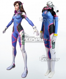 Overwatch OW D.Va DVa Hana Song Cosplay Costume - Armor Version