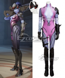 Overwatch OW Widowmaker Amelie Lacroix Cosplay Costume