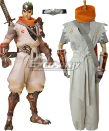 Overwatch OW Young Genji Cosplay Costume