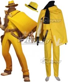 Overwatch OW Jesse McCree Vigilante Skin Cosplay Costume