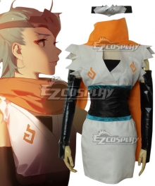 Overwatch OW Genji Shimada Young Female Cosplay Costume
