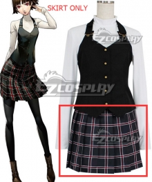 Persona 5 Makoto Niijima Cosplay Costume-SKIRT ONLY