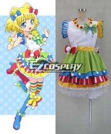 Puripara Mirei Minami Cosplay Costume