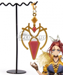 Epic Seven / Epic 7 Silver Blade Aramintha Earring Cosplay Accessory Prop
