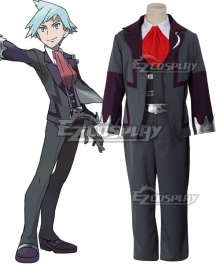 Pokemon Steven Stone Cosplay Costume