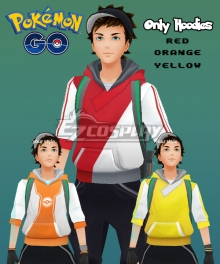 Pokémon GO Pokemon Pocket Monster Trainer Male Cosplay Costume - Only Hoodies