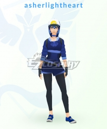 Pokémon GO Pokemon Pocket Monster Trainer Female Cosplay Costume - B Edition