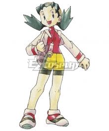 Pokémon Crystal Pokemon Pocket Monster Kris Cosplay Costume