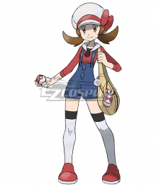 Pokémon HeartGold SoulSilver Pokemon Pocket Monster Lyra Cosplay Costume