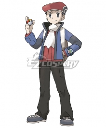 Pokémon Diamond Pearl Platinum Pokemon Pocket Monster Lucas Cosplay Costume