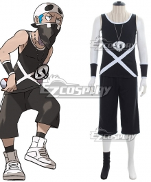 Pokemon Sun and Moon Team Skull Grunts Male Cosplay Costume