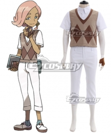 Pokemon Sun and Moon Ilima Cosplay Costume