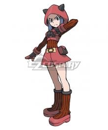 Pokémon Omega Ruby Pokemon Pocket Monster Team Magma Grunt Female Cosplay Costume