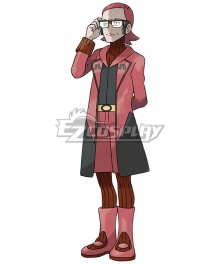 Pokémon Omega Ruby Pokemon Pocket Monster Maxie Magma Leader Cosplay Costume