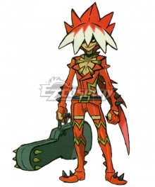 Pokemon Sun and Moon Ryuki Cosplay Costume