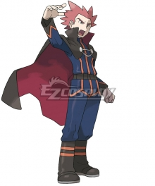 Pokémon Champion Lance Cosplay Costume