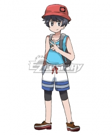 Pokémon Pokemon Ultra Sun and Ultra Moon Male Protagonist Cosplay Costume