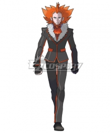 Pokemon Ultra Sun and Ultra Moon Pokémon Team Flare Boss Lysandre Cosplay Costume