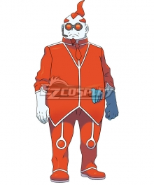Pokemon Ultra Sun and Ultra Moon Pokémon XY Xerosic Cosplay Costume