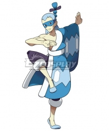 Pokémon Pokemon Brycen Cosplay Costume