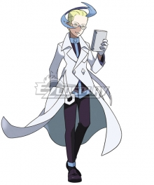 Pokémon Pokemon Ultra Sun and Ultra Moon Colress Cosplay Costume