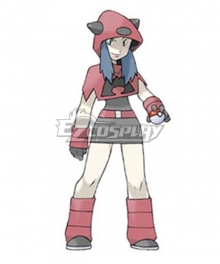 Pokemon Team Magma Female Cosplay Costume
