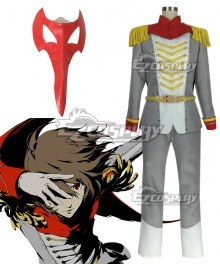 Persona 5 Crow Goro Akechi Cosplay Costume