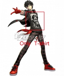 Persona 5: Dancing Star Night Protagonist Akira Kurusu Ren Amamiya New Cosplay Costume - Only T-shirt