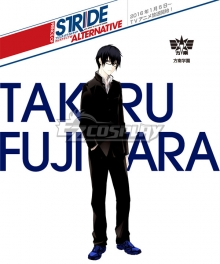 Prince of Stride Alternative Hounan School Takeru Fujiwara Uniforms Cosplay Costume