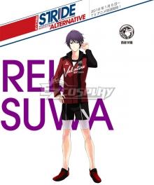 Prince of Stride Alternative Saisei School Reiji Suwa Athletic Wear Cosplay Costume