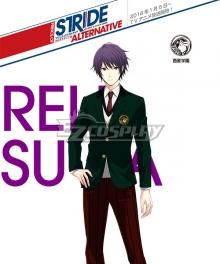 Prince of Stride Alternative Saisei School Reiji Suwa Uniforms Cosplay Costume