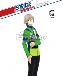 Prince of Stride Alternative Mihashi School Yuu Kamoda Athletic Wear Cosplay Costume