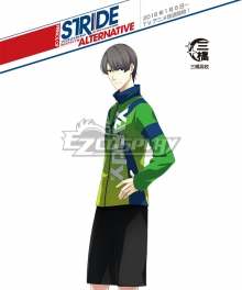 Prince of Stride Alternative Mihashi School Hisato Harigaya Athletic Wear Cosplay Costume
