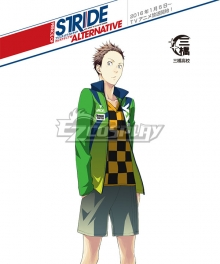 Prince of Stride Alternative Mihashi School Takeshi Eifuku Athletic Wear Cosplay Costume