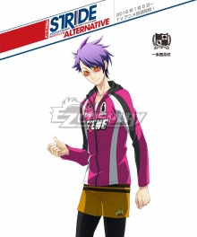 Prince of Stride Alternative Ichijyoukan School Tetsu Hachiya Athletic Wear Cosplay Costume