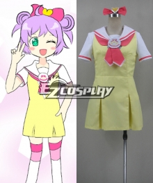Pretty Rhythm Manaka Laala School Uniform Cosplay Costume