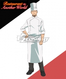 Restaurant to Another World Isekai Shokudou Encargado del Restaurante Cosplay Costume