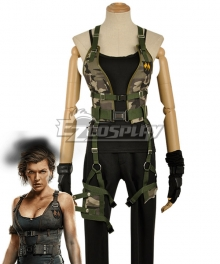 Resident Evil: The Final Chapter Alice Cosplay Costume