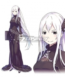Re:Zero Re: Life In A Different World From Zero Echidna Cosplay Costume