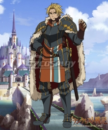 Record of Grancrest War Grancrest Senki Lassic David Cosplay Costume